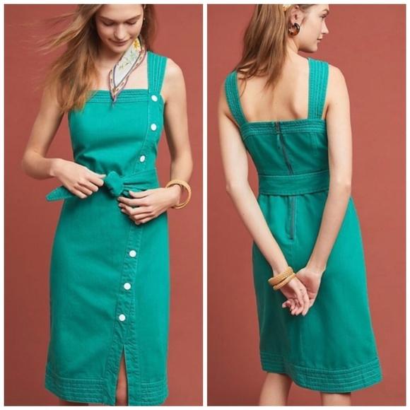 Anthropologie Dresses & Skirts - Anthropology Elizabeth Button-Front Dress